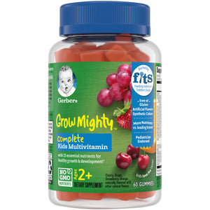 Children's Gummy Vitamins With Iron