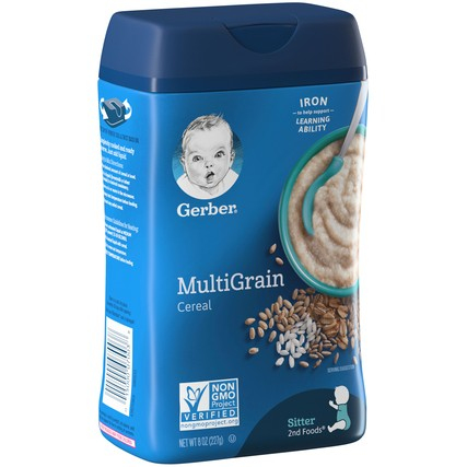 Gerber Multigrain Cereal 8 oz.