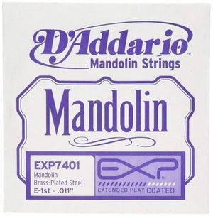 D'Addario Exp7401 Exp Mandolin Single String, First String.011