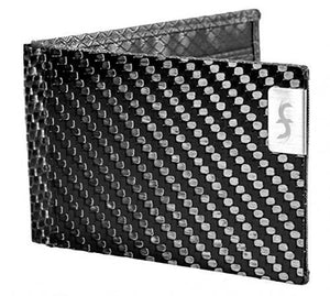Common Fibers Mens Slim Bifold Wallet - Grey