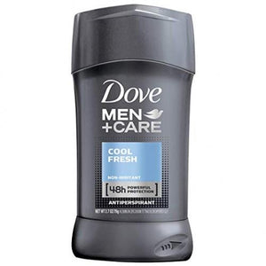 Dove Men+Care Antiperspirant Deodorant Stick, Cool Fresh, 2.7 Oz