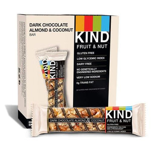 Kind Bars, Dark Chocolate Almond Coconut, Gluten Free, 1.4 Ounce Bars