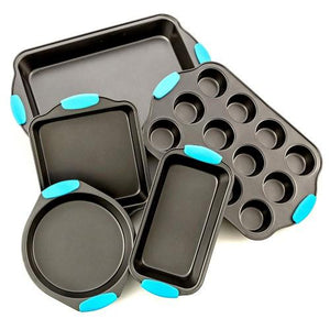Intriom Bakeware Set -Premium Nonstick Baking Pans - Set Of 5