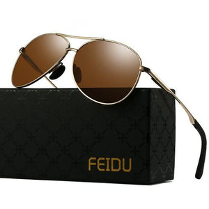 Feidu Polarized Aviator Driving Sunglasses Unisex