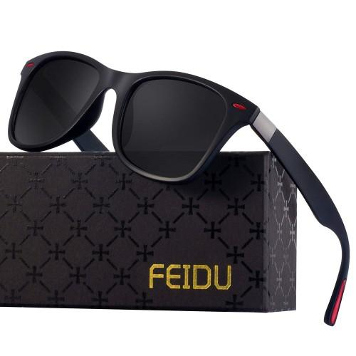 Feidu Polarized Wayfarer Sunglasses For Men Vision Polarized Sunglasses