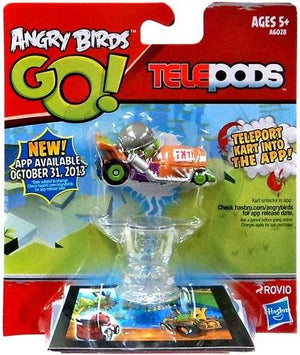 Angry Birds Go! Telepods Kart Green Pig With Helmet