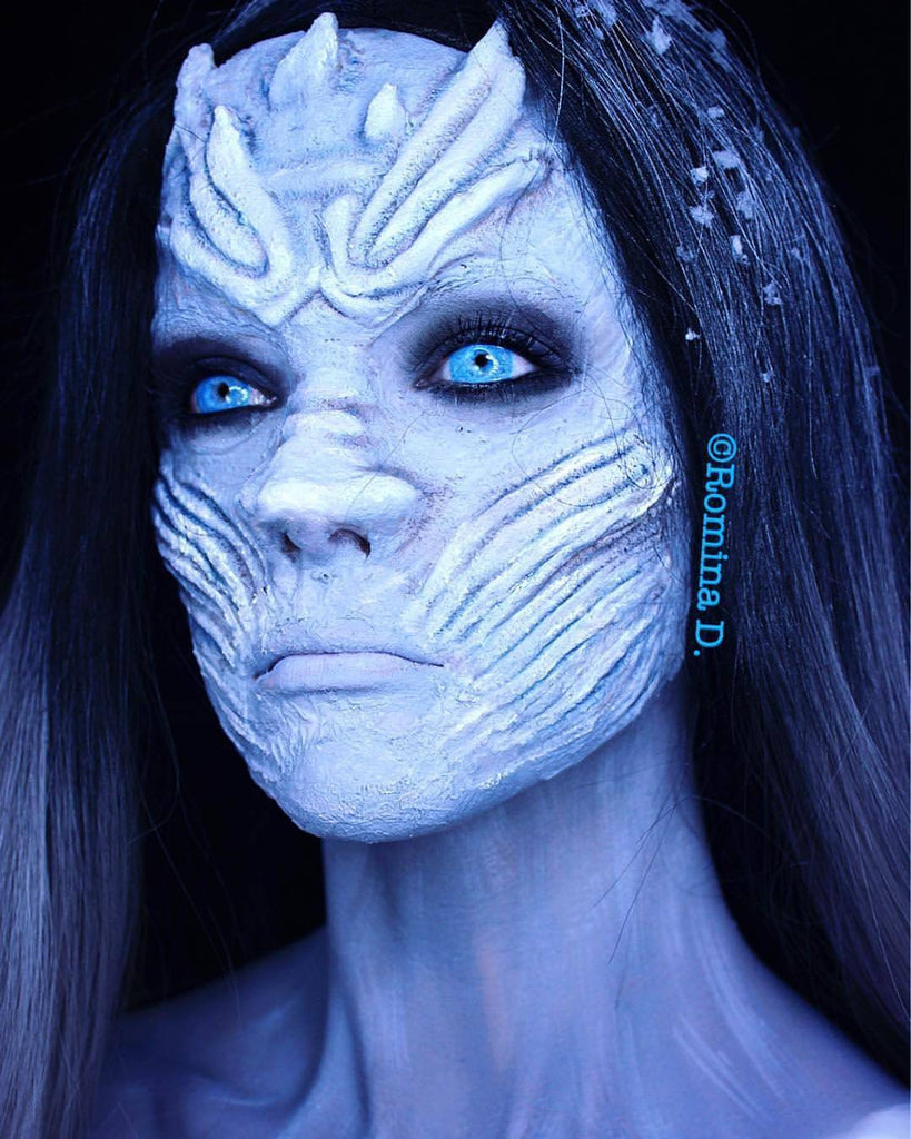 Ice Walker Contact Lenses