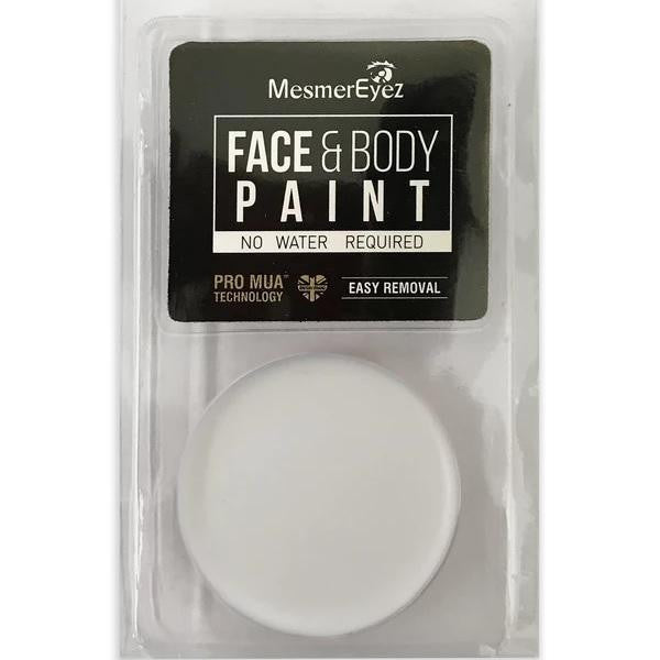 White Face & Body Paint