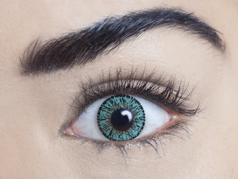 1 Month, 3 Month - Jade Green Contact Lenses