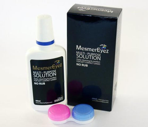 Accessories - Contact Lens Solution & Case Contact Lenses