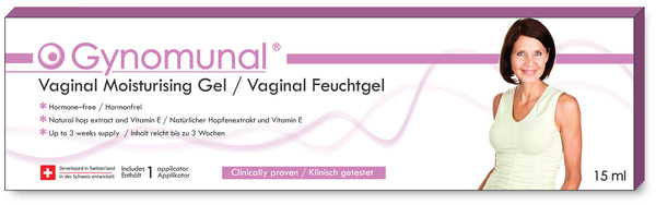 Gynomunal Vaginal Feuchtgel 15 ml  /  Gel vaginal hydratant 15 ml