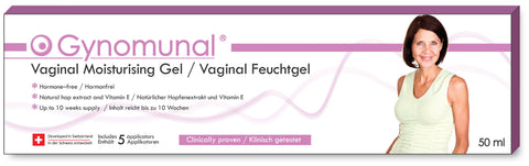 Gynomunal Vaginal Feuchtgel 50 ml / Gel vaginal hydratant 50 ml