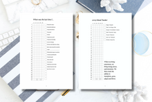 Load image into Gallery viewer, Mindful Productivity Planner: 2019 Goal Getter Edition {PRINTABLE PDF LETTER SIZE}