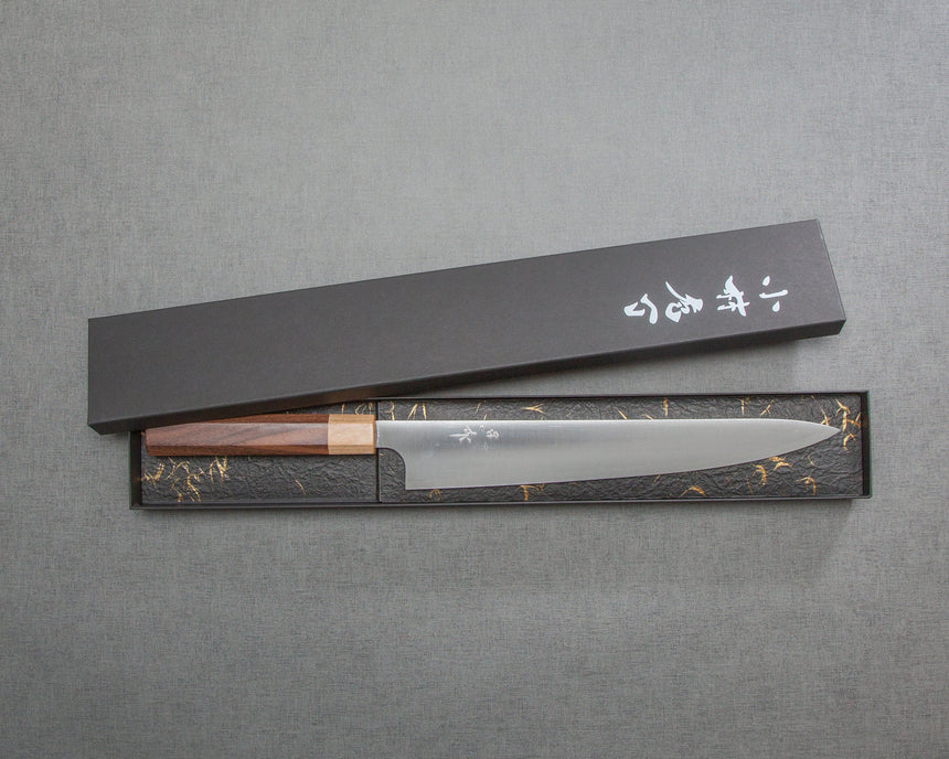 Kei Kobayashi 270mm Sujihiki with Morado Handle