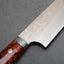 Yoshimi Kato R2/SG2 Diamond Damascus 210mm Gyuto with Polished Orange Acrylic Handle