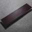 Leather Strop with Tempered Glass Base