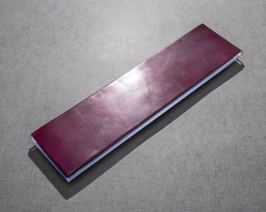 Leather Strop with Polycarbonate Base