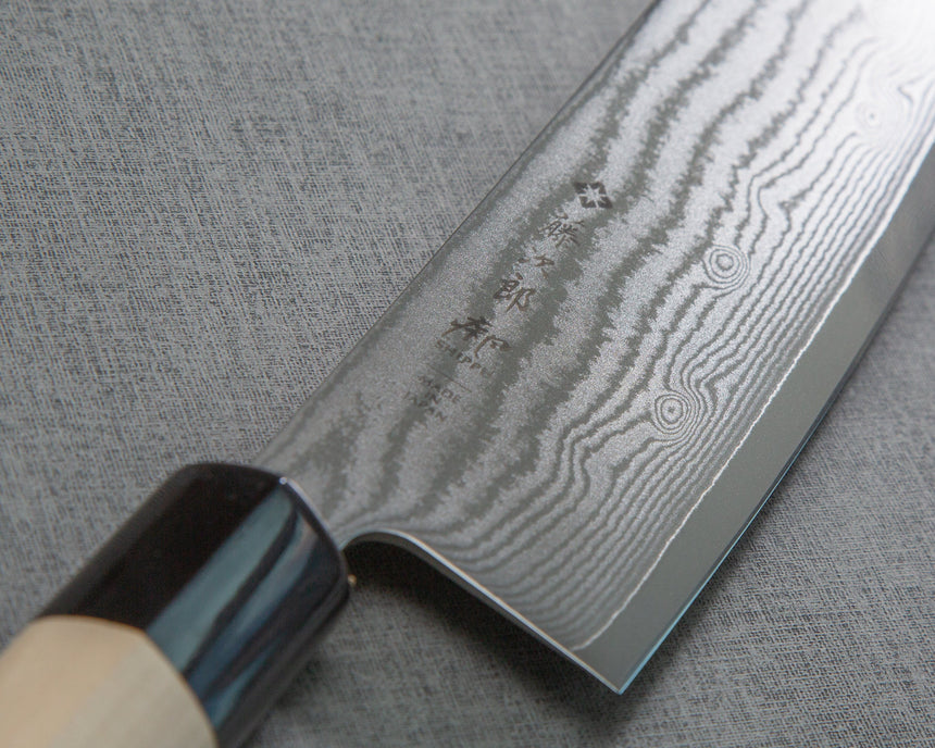 "Tojiro ""Shippu"" DP Damascus 165mm Nakiri"