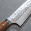 Takeshi Saji SRS13 Damascus Tsuchime 240mm Kiritsuke with Ironwood Handle
