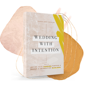 Wedding With Intention Hardcover Book