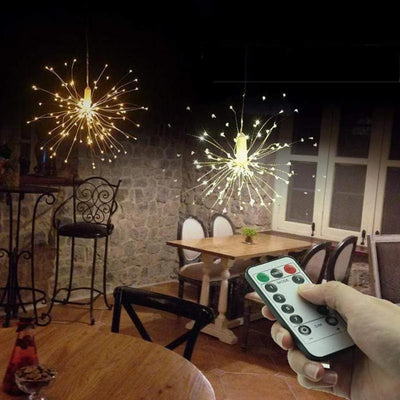 Primenzo 150403 Starburst Lights With Remote Control
