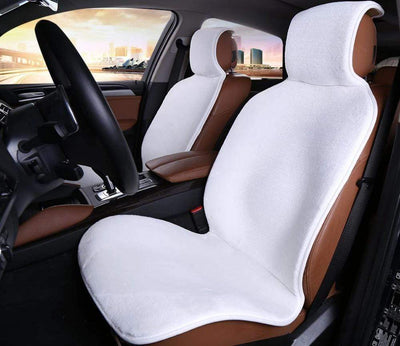 Primenzo 200000206 Top-Quality Car Seat Covers White