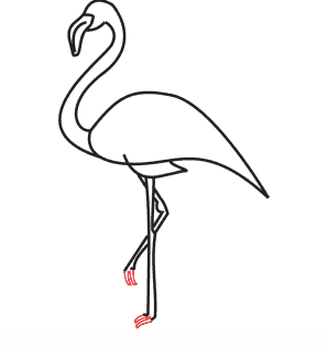 Comment Dessiner Un Flamant Rose Soleil Co