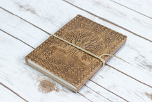 Load image into Gallery viewer, Tree of Life Handmade Leather Journal