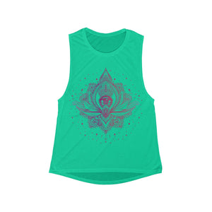 Eye of Light Women's Flowy Scoop Muscle Tank