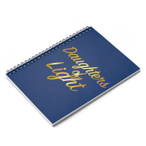 Daughters Of Light Spiral Notebook - Ruled Line