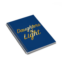 Load image into Gallery viewer, Daughters Of Light Spiral Notebook - Ruled Line