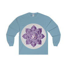 Load image into Gallery viewer, Om Unisex Long Sleeve Tee