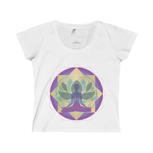 Lotus Women's Scoop Neck Tee