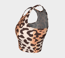 Load image into Gallery viewer, Leopard Athletic Top