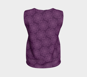 Purple Flower Top