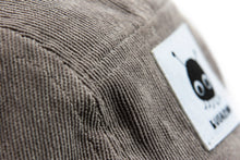 "Load image into Gallery viewer, ""Greyjoy"" — Gray Five-Panel Corduroy Hat"