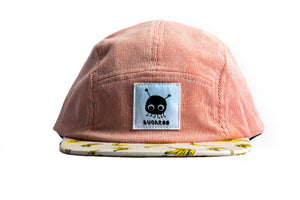"""B-A-N-A-N-A-S"" — Five-Panel Corduroy Hat"