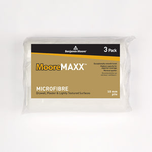 MooreMax Microfibre 10mm 3-Pack Roller Refill