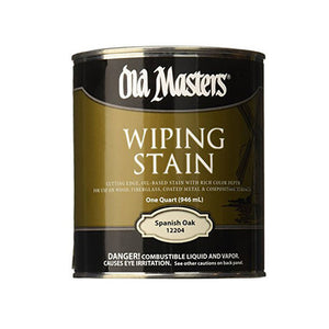 Old Masters Interior Wiping Stain
