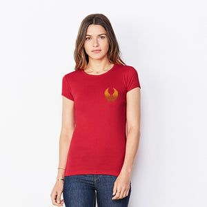 Ladies Short Sleeve Crew Neck T-SHIRT
