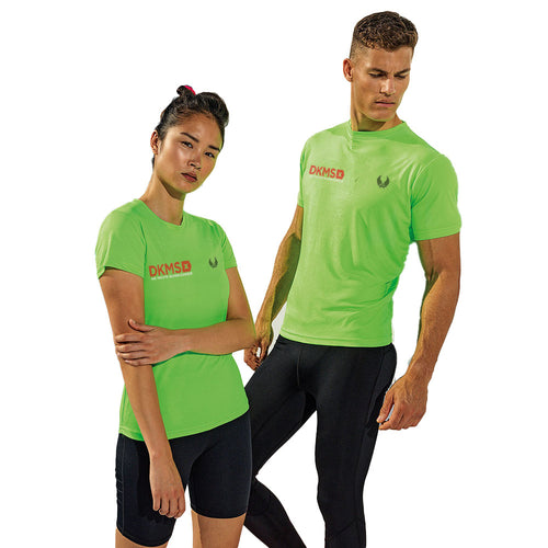 DKMS : Performance Tech Tee : Lightning Green