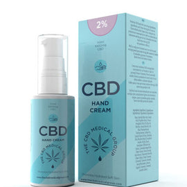 2% CBD Hand Cream (1000mg)