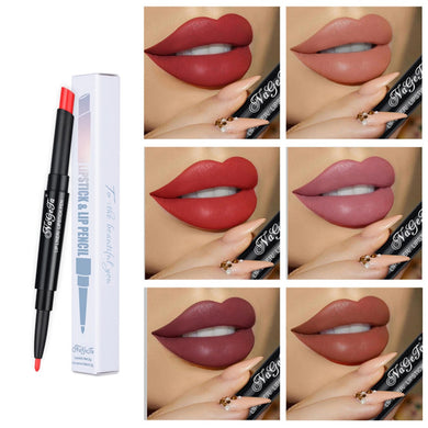 Matte Lipstick Pencil Lipiner Waterproof Long Lasting Tint