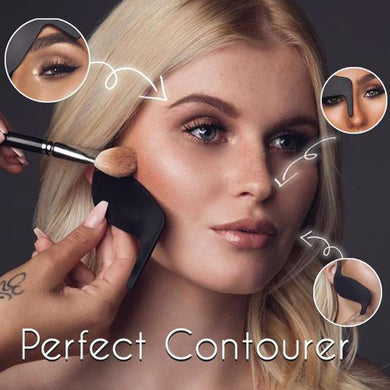 High Quality Contour Curve Perfect Contourer Makeup Tools Prime Contourer Eyeliner Card 7.3cm x 9.2cm