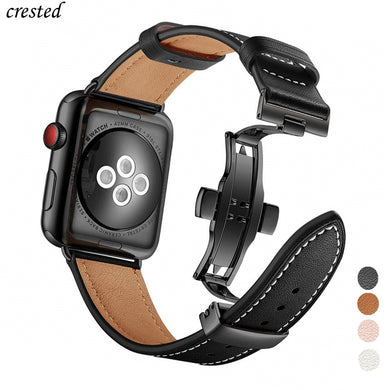 Italy Genuine Leather strap for Apple watch 5 band 44mm 40mm iWatch band 42mm 38mm Leather Watchband bracelet Apple watch 4 3 21