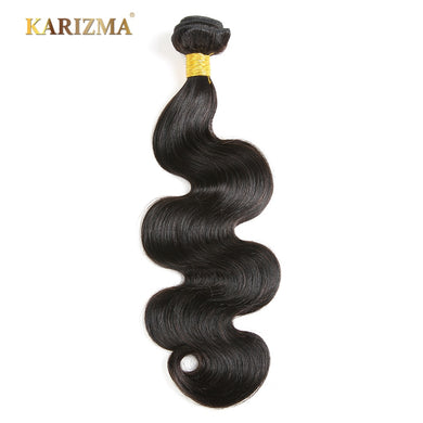 Karizma Hair Peruvian Body Wave Bundles Natural Black