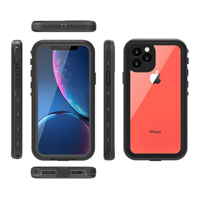 For iPhone 11 Pro 5.8 Case Dual Layer PC+TPU Waterproof Shockproof Anti Scratch Armor Cover For iPhone 11Pro Case Underwater
