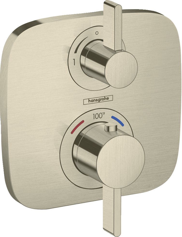 Ecostat E  Thermostatic Trim with Volume Control - FaucetMart