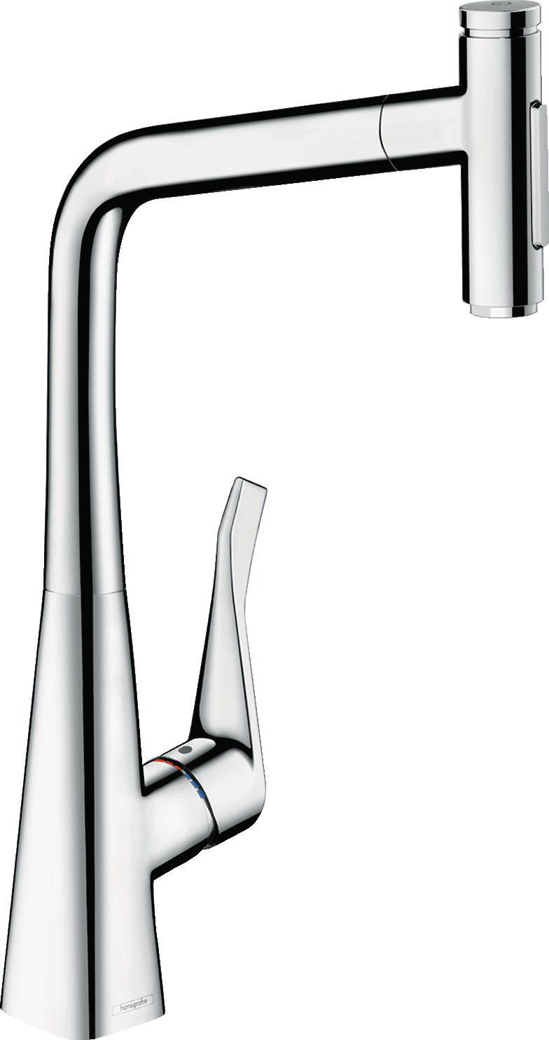Metris Selecta Higharc Kitchen Faucet, 2-Spray Pull-Out, 1.75 Gpm - FaucetMart