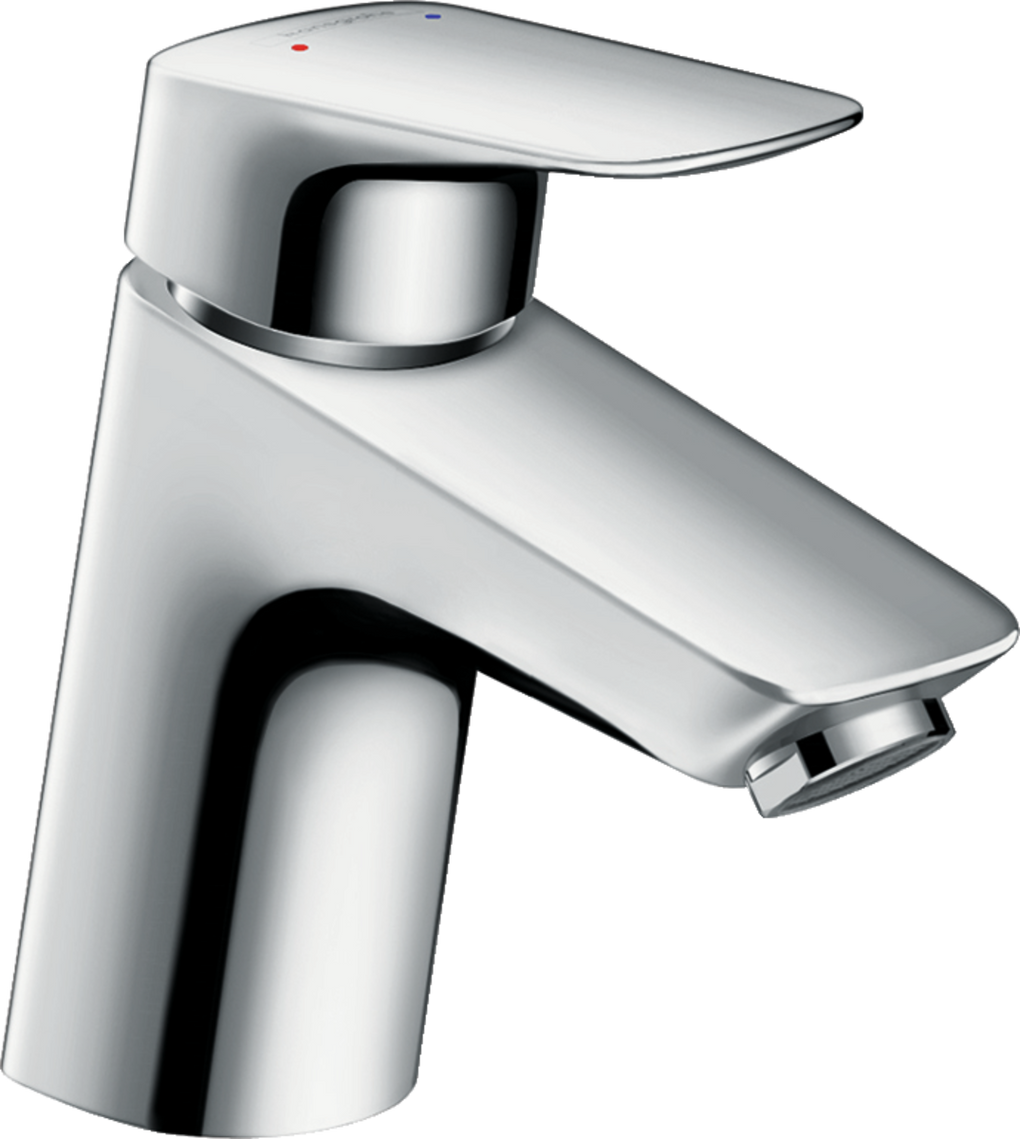 HANSGROHE  71078001   LOGIS 70 SINGLE HOLE FAUCET 1.0 GPM WITHOUT POP-UP - FaucetMart